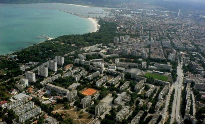 Варна погледната от високо